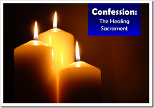 Confession candles