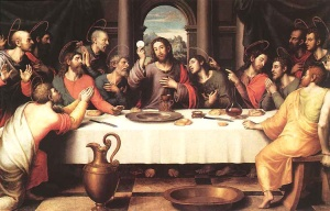 Holy Eucharist Last Supper