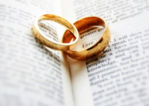 Marriage rings bible