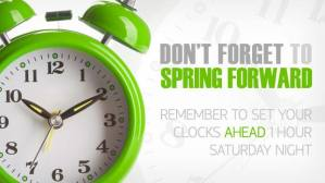 2014 Spring Forward reminder