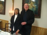 Sr. Lucille Stelly and Fr. Richard Vidrine.