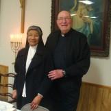 Sr. Lucille Stelly and Fr. Richard Vidrine.