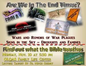 Rapture and Revelation promo piece