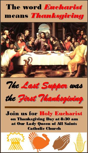 Thanksgiving Mass 2014