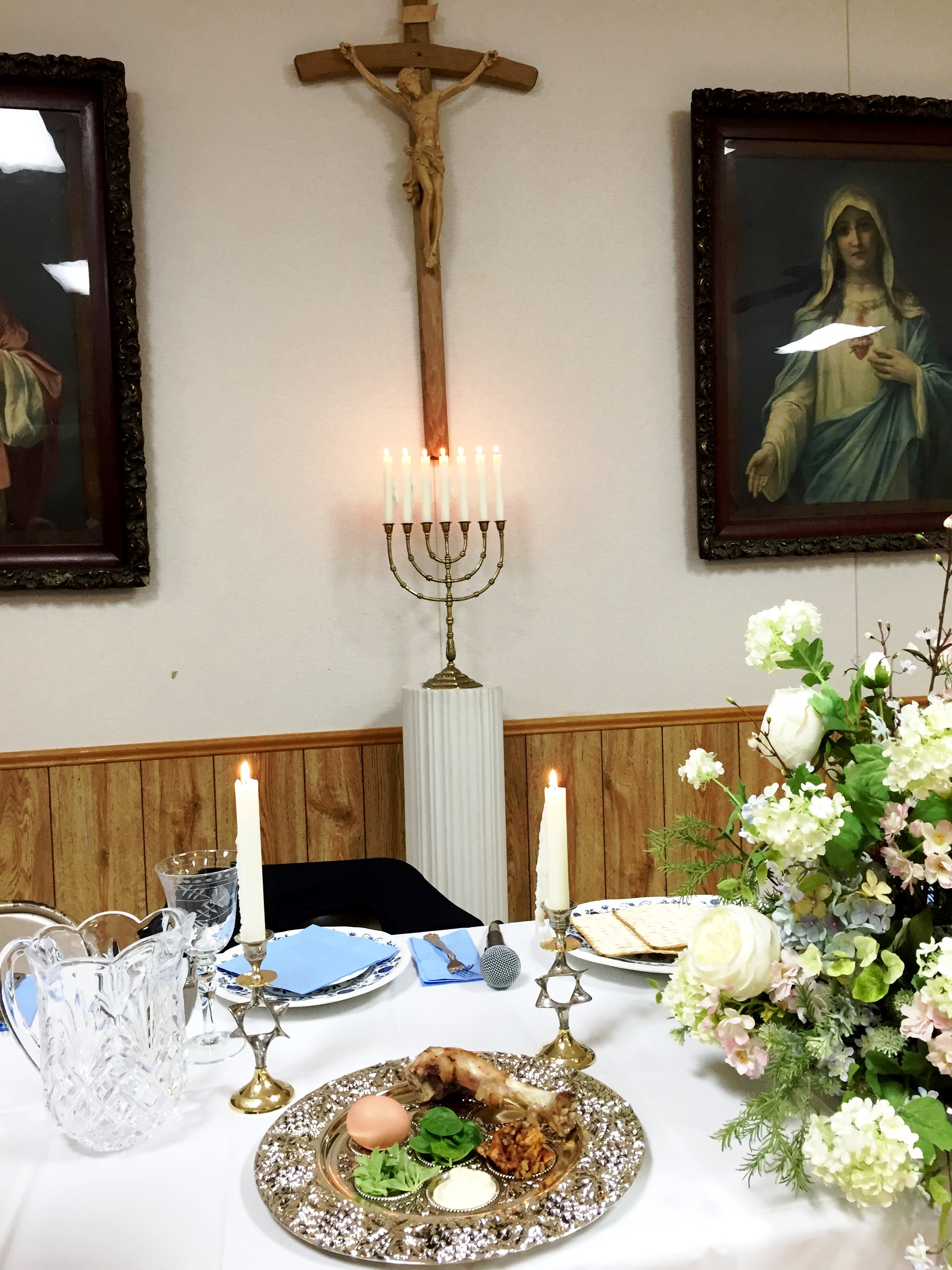 2015 Seder Meal   Our Lady Queen of All Saints Catholic Church ...