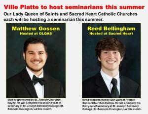 2015 Summer Seminarians Gossen Bellingham