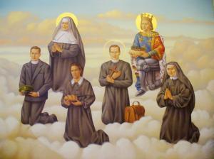 Altar Painting Fr Verbis Lafleur St Louis
