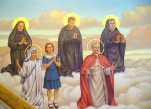 Altar Painting St Teresa of Calcutta Charlene